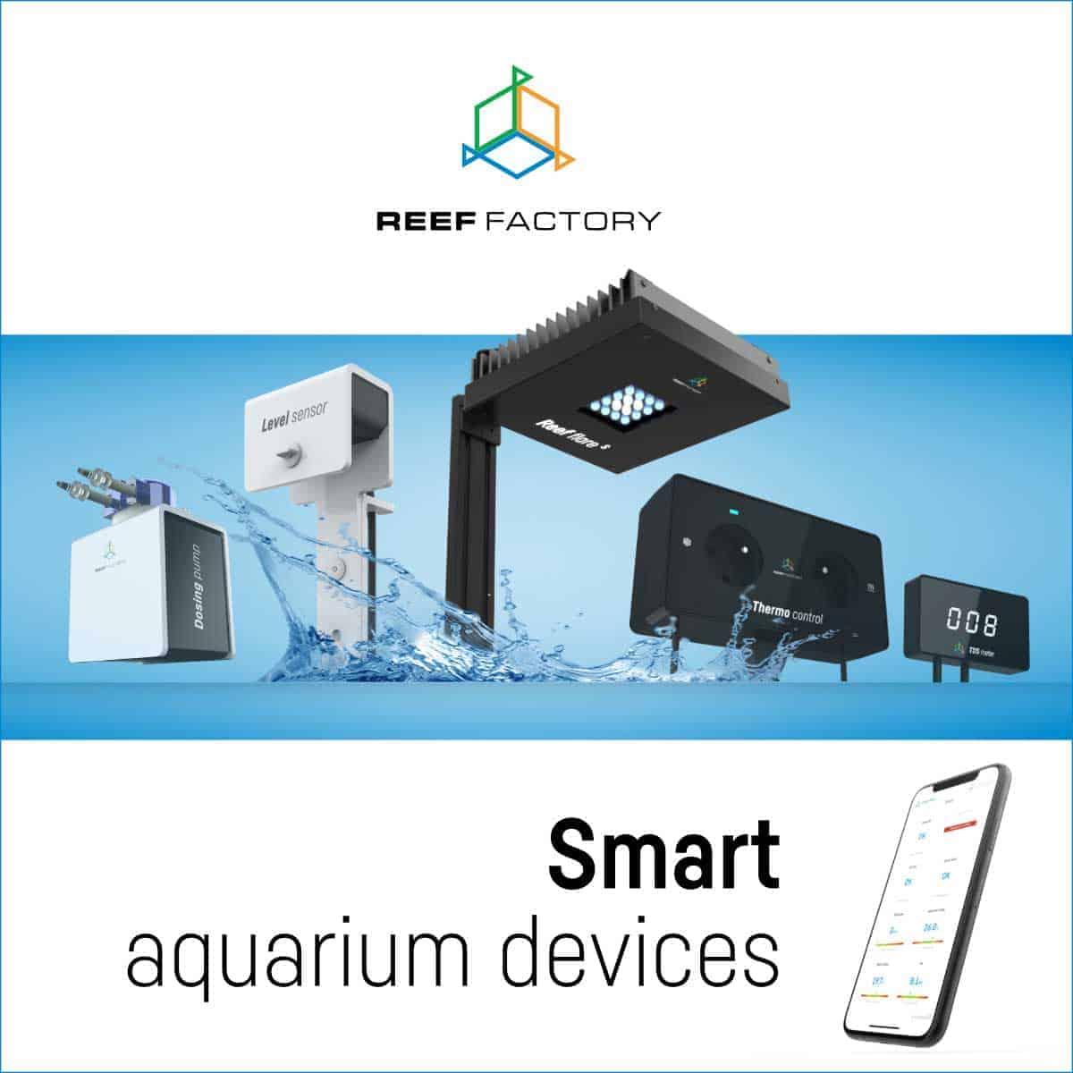 Reef Factory - Smart aquarium devices
